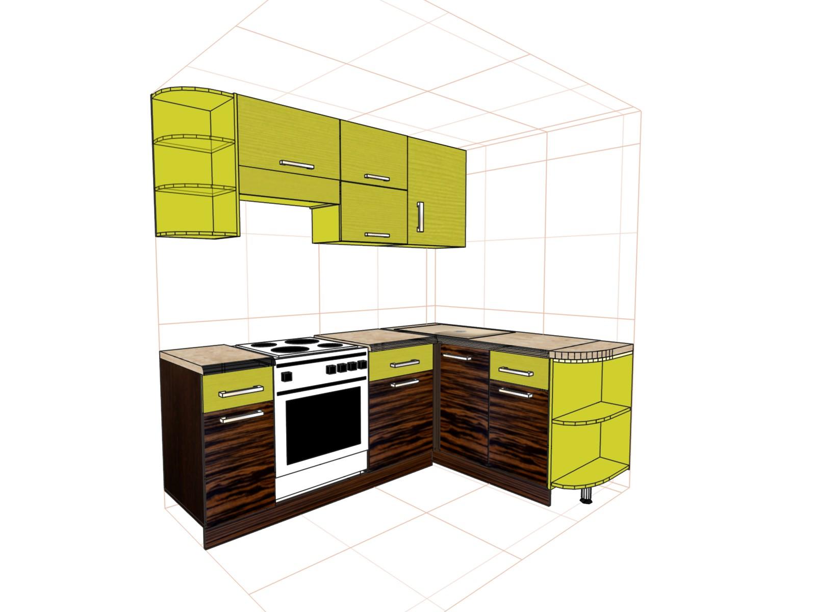 Составление дизайн проекта кухни